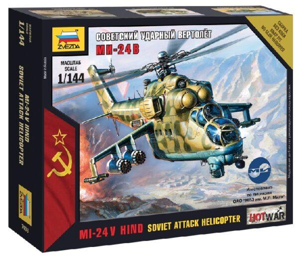 ZVEZDA 7403 Mil-24 Vp Modellismo