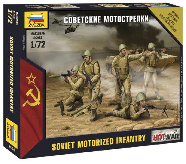 ZVEZDA 7404 Soviet Infantry