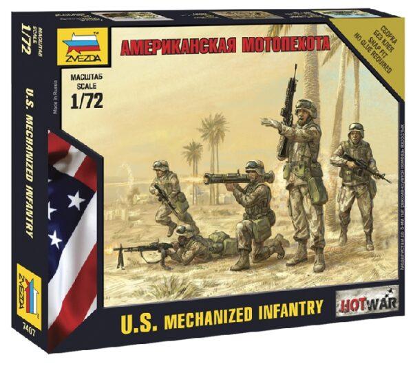 ZVEZDA 7407 American Infantry