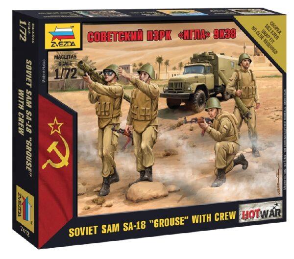 "ZVEZDA 7412 Soviet Pzrk ""Igla"" 9k38"