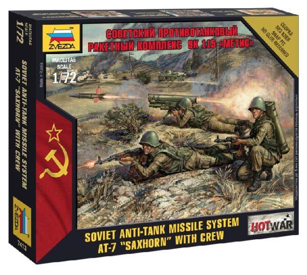 """ZVEZDA 7413 Soviet Ptrk """"Metis"""""""