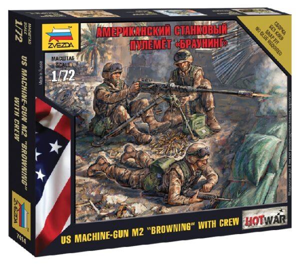 "ZVEZDA 7414 American Machine Gun ""Browning"""