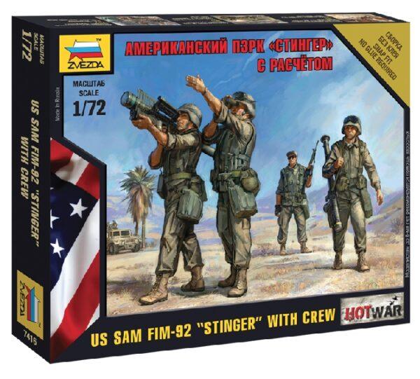 """ZVEZDA 7416 American Pzrk """"Stinger"""""""