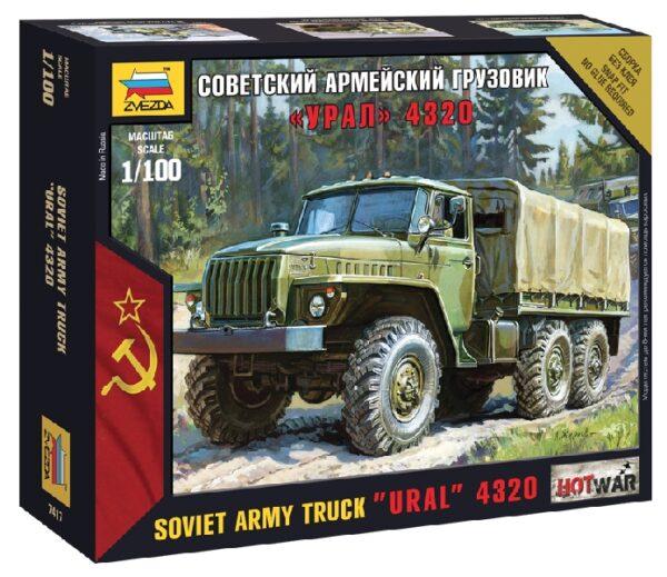 ZVEZDA 7417 Ural Truck