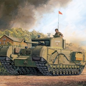 DRAGON 7424 British Churchill Mk.Iv Modellismo