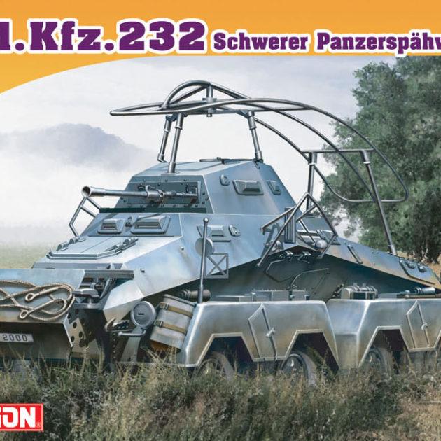 DRAGON 7429 Sd.Kfz.232 Schwerer Panzerspähwagen (Fu) Modellismo