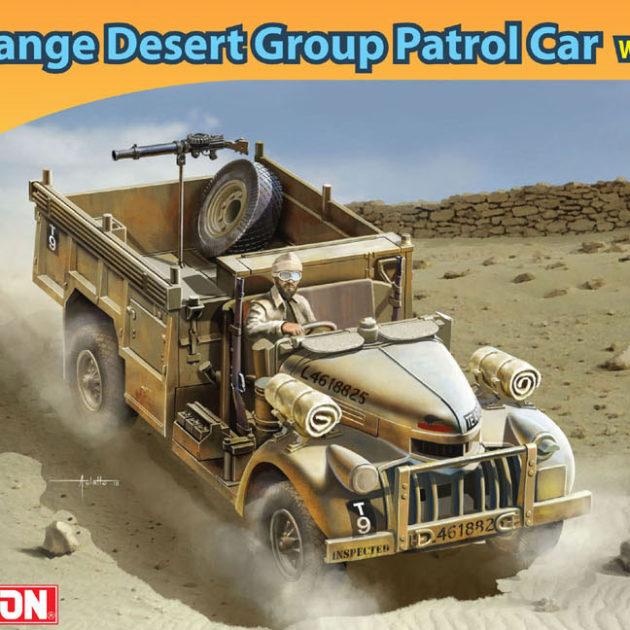 Dragon 7439  LONG RANGE DESERT GROUP Modellismo