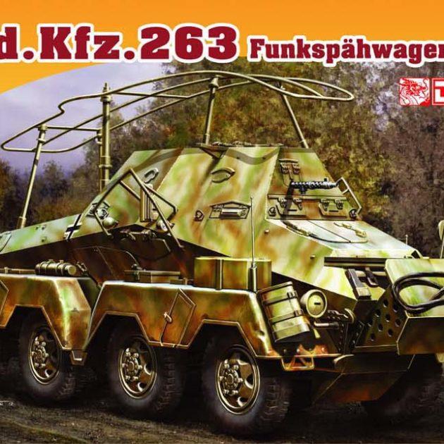 DRAGON 7444 Sd.Kfz.263 Schwerer Panzerspahwagen Modellismo