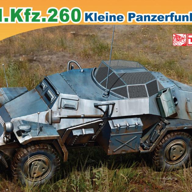 DRAGON 7446 Sd.Kfz.260 Kleine Panzerfunkwagen Modellismo