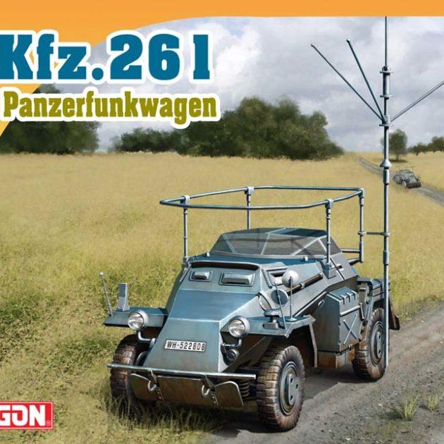 DRAGON 7447 Sd.Kfz.261 Modellismo
