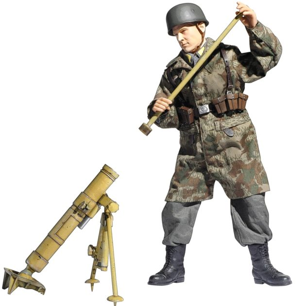 DRAGON 75023 German Kz 8 Cm Grw 42 Mortar Modellismo