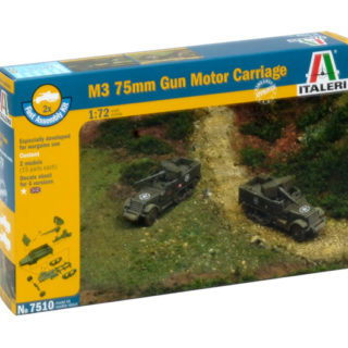 ITALERI 7510 M3 75mm Gun Motor Carriage