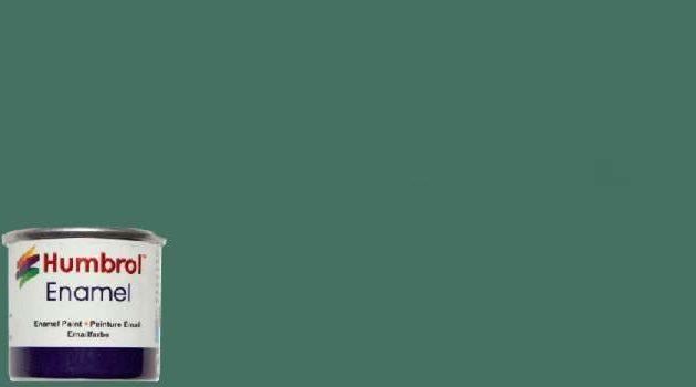 Humbrol Smalto sintetico verde uniforme opaco 76 Modellismo