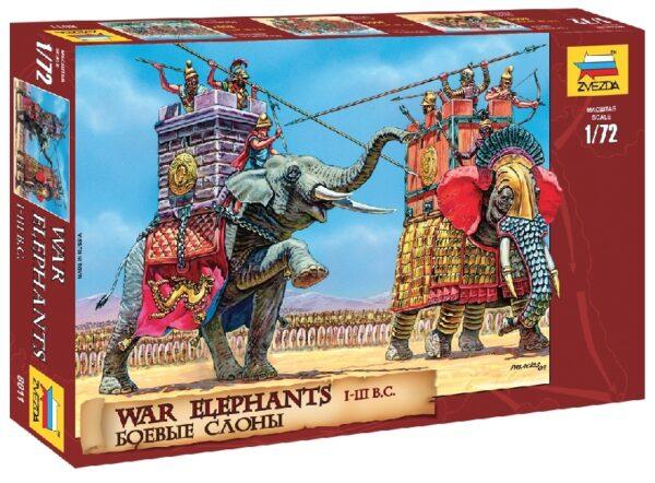 ZVEZDA 8011 War Elephants