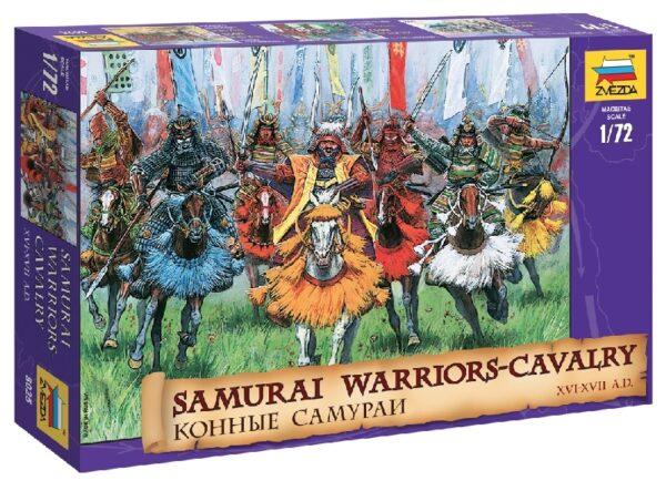 ZVEZDA 8025 Samurai Warriors-Cavalry