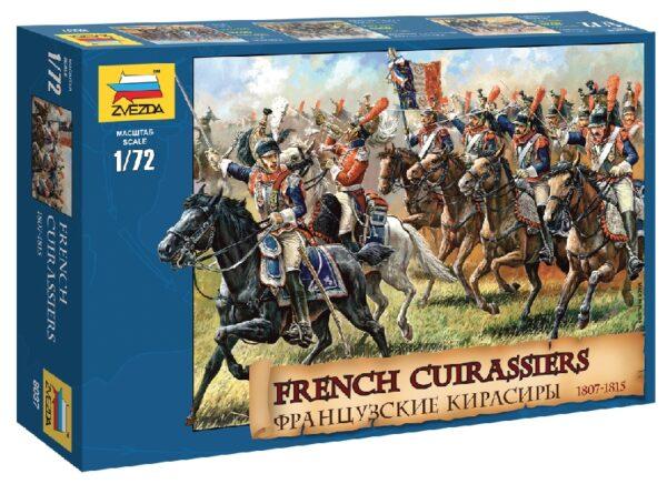 ZVEZDA 8037 French Cuirassiers 1812