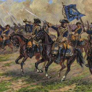 Zvezda 8057 Swedish Dragoons