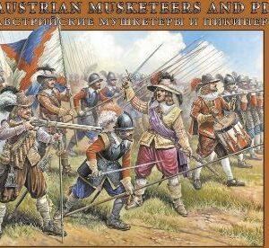 Zvezda 8061 Austrian Musketeers