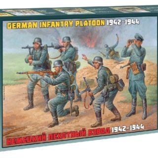 ZVEZDA 8078 German Infantry Wwii