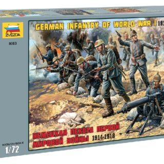 ZVEZDA 8083 German Infantry Wwi