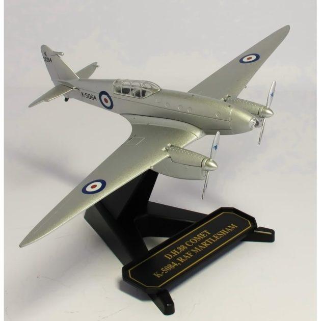 Herpa 8172com004 DH88 Comet K5084 RAF-1/72- Modellismo