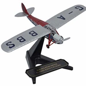 Herpa 8172pm003 DH Puss Moth G-ABBS Kings Flight Modellismo