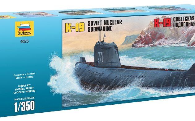 "ZVEZDA 9025 K-19 Soviet Nuclear Submarine ""Hotel"" Cla Modellismo"
