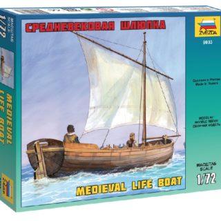 ZVEZDA 9033 Medieval Life Boat