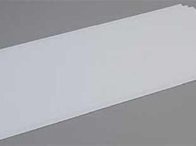 Evergreen 9104 Polisirene bianco 20x53cm spess.0