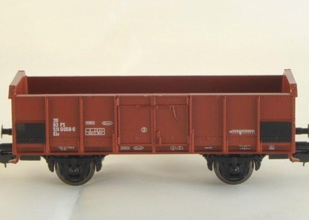 Piko 95998 Carro aperto marrone/grigio Italia