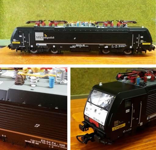 Piko 97732 Locomotore E.189.108 Trenitalia Cargo Liv