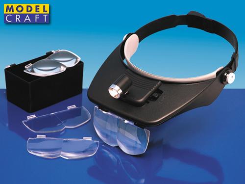 Modelcraft Kit visiera lenti ingrandiment LC1764 Modellismo