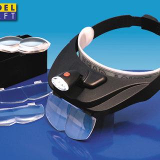 Modelcraft Kit visiera lenti ingrandiment LC1765 Modellismo