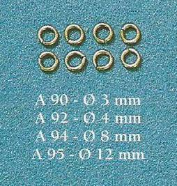 COREL NA092 ANELLO 4 MM - CONF. 100 PZ Modellismo Navale