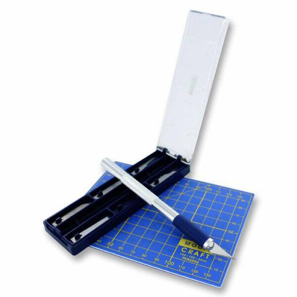 Modelcraft Set tappeto con taglierino e 6 lame PKN2008 Modellismo