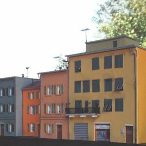 Modellismo - Complesso edifici artigianali scala H0 art.E001