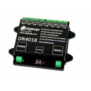Digikeijs DR4018 Decoder 16 scambi o semafori Modellismo