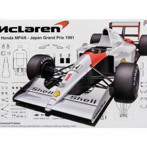 Fujimi FUJ090443  McLaren MP4/6-Japan GP 1991 (GP10)