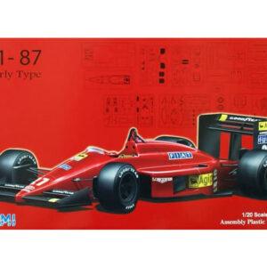 Fujimi FUJ090634  Ferrari F1-87 Early Type