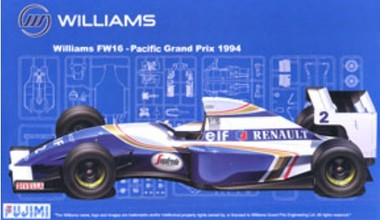 Fujimi FUJ090658  Williams FW16 1994 (GP21)