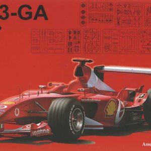 Fujimi FUJ090863  Ferrari F2003-GA Italia (GP30)