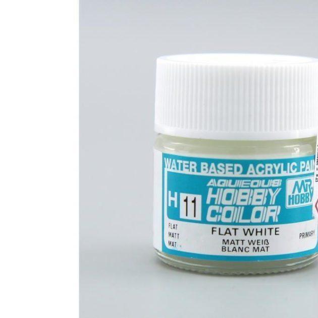 MrHobby H011 Bianco opaco Gunze