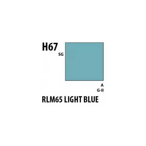 MrHobby H067 Light blue RLM65 opaco Gunze