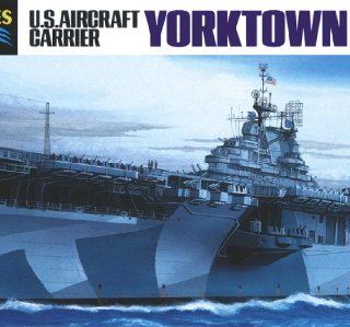 HASEGAWA HAS709 U.S. Aircraft Carrier Yorktown Ii