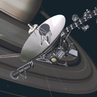 HASEGAWA HASSW02 Unmanned Space Probe Voyager