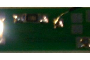 Magic-Train MT1 Circuito con 1 led bianco effetto neon pe Modellismo