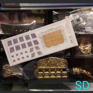 Corel SD58 Set decorazioni per nave Neptune Modellismo Navale