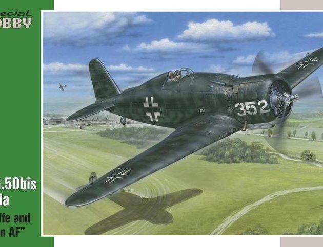 "SpecialHobby SH32058 Fiat G.50 Bis ""Luftwaffe Croatian "" 1:32 Modellismo"