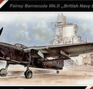 SpecialHobby SH48021 Fairey Barracuda Mk.II Modellismo
