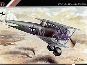 "SpecialHobby SH48024 PFALZ D.XII ""LATER VERSION"" Modellismo"
